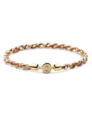 MIANSAI   Miansai Nexus Chain Bracelet In 18K Gold-Plated Sterling Silver   Goxip
