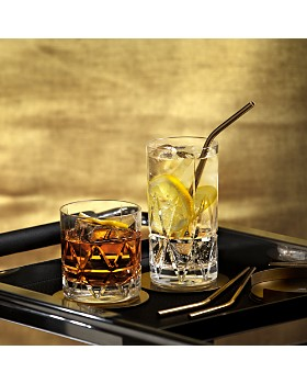 Orrefors - Peak Double Old Fashioned Glass, Set of 4