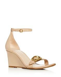 COACH - Women's Odetta Ankle-Strap Wedge Sandals
