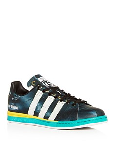 Raf Simons for Adidas - Men's RS Samba Stan Leather Low-Top Sneakers