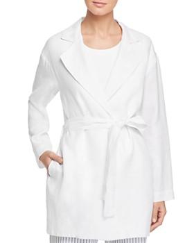 73e9d222d4e4 DKNY - Linen Wrap Jacket ...