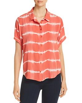 Velvet Heart - Short-Sleeve Tie-Dye Shirt