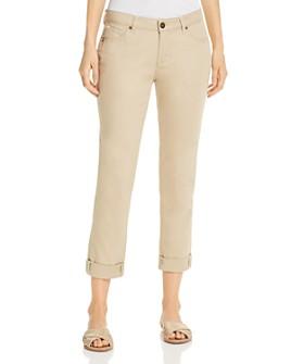 JAG Jeans - Carter Girlfriend Skinny Jeans in Khaki