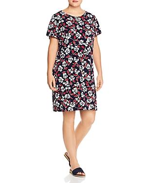 Leota Plus Floral-Print Shift Dress