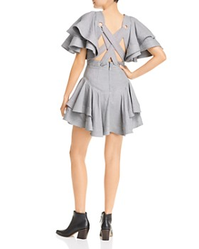 Acler - Houndstooth Mini Dress