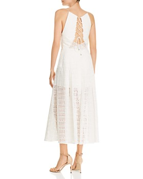 Acler - Eden Eyelet Maxi Dress