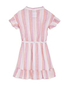 Rails - Girls' Sandy Stripe & Ruffled Dress - Little Kid, Big Kid