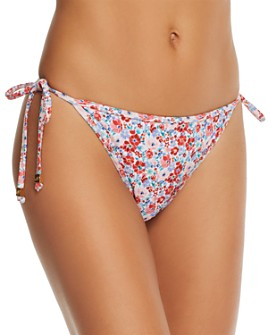 Shoshanna - Clean Triangle Floral Bikini Bottom
