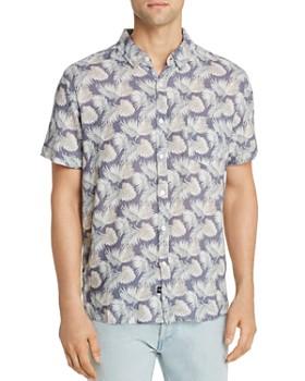 Rails - Carson Palm Frond-Print Slim Fit Shirt