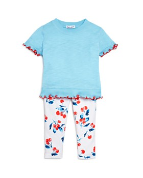 08de55e9bc0a Splendid - Girls' Tee & Cherry Print Leggings Set - Baby ...