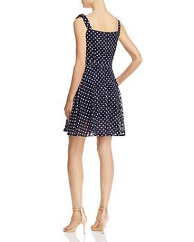 Betsey Johnson - Dot-Print Sleeveless Dress