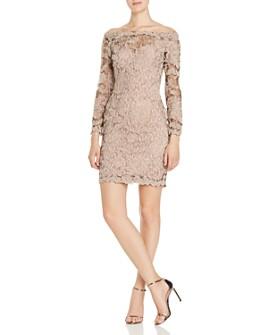Tadashi Shoji - Off-the-Shoulder Lace Dress