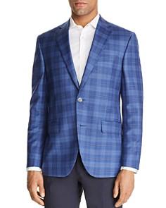 Jack Victor - Plaid Regular Fit Sportcoat