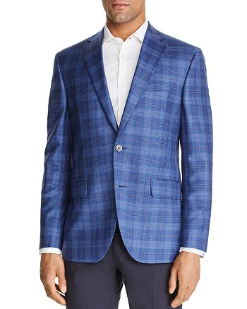 Jack Victor - Plaid Regular Fit Sportcoat