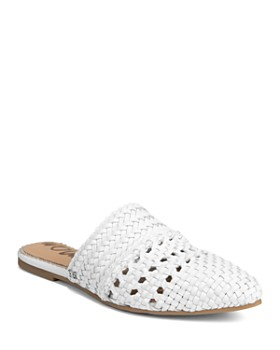 Sam Edelman - Women's Natalya Woven Leather Mules