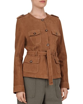 Gerard Darel - Odelya Leather Safari Jacket
