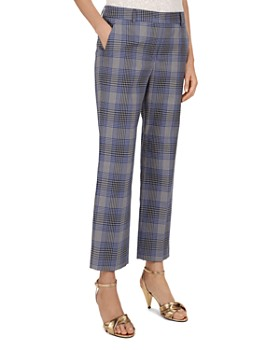 Gerard Darel - Nelly Plaid Cropped Pants