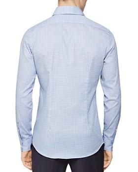 REISS - James Diamond Geo Print Slim Fit Dress Shirt