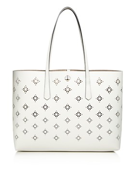 971dd4344f18 kate spade new york - Large Floral Perforated Tote ...