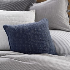 "DKNY - PURE Textured Decorative Pillow, 18"" x 18"""