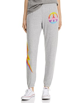 13a4d2d6 AQUA - Rainbow Graphic Sweatpants - 100% Exclusive ...