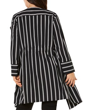 Estelle Plus - Milan Striped Jacket