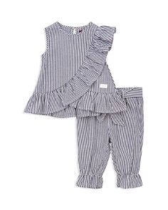 7 For All Mankind - Girls Striped Tank & Pants Set - Baby