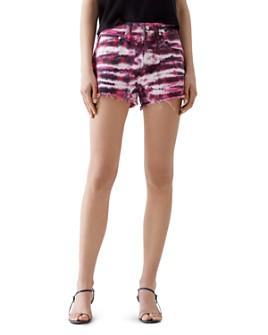 AGOLDE - Parker Cutoff Denim Shorts in Envision