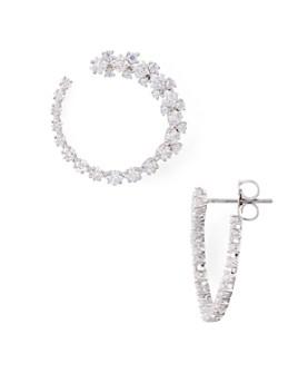 Nadri - Tulle Gradient Hoop Earrings