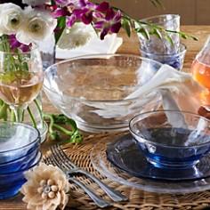 Juliska - Carine Glass Dessert/Salad Plate