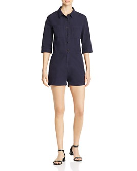 MKT Studio - Orisse Button-Down Romper