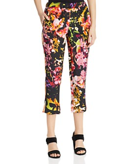 Kobi Halperin - Athena Floral Cropped Pants