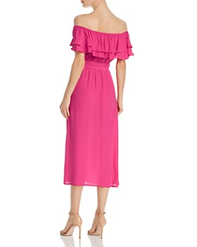 Show Me Your MuMu - Rosie Ruffled-Popover Dress