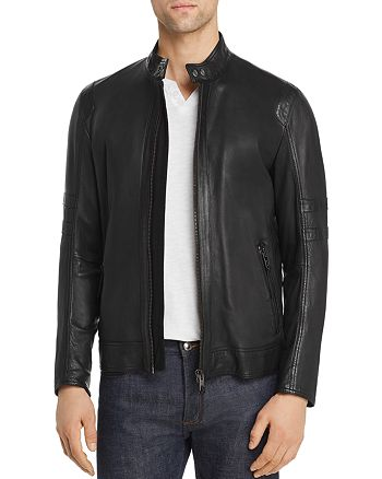 BOSS - Jaylo Leather Jacket