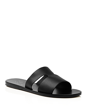 Ancient Greek Sandals Women's Apteros Flat Slide Sandals