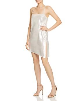 Michelle Mason - Shimmery Mini Dress