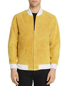 OBEY - Clifton Suede Bomber Jacket