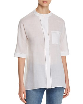 8a31f5f62e Women's Button Down Shirts & Tops - Bloomingdale's