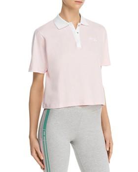 FILA - Adiella Mesh-Inset Polo Shirt