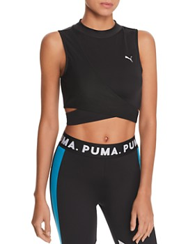 PUMA - Chase Crossover Cropped Top