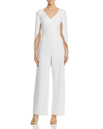Adrianna Papell - Draped-Back Jumpsuit