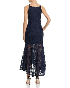 Avery G - Floral-Appliqué Maxi Dress