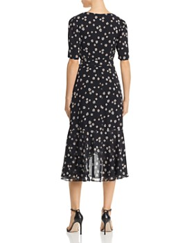 Fame and Partners - Floral Wrap Dress