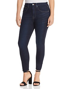 Good American - Good Legs Crop Skinny Jeans in Blue269
