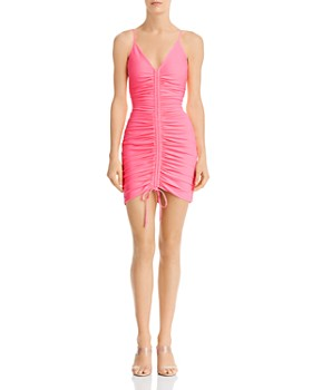 Tiger Mist - Sasha Drawstring Ruched Dress - 100% Exclusive