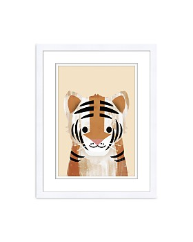 Bloomingdale's Artisan Collection - Pastel Tiger Wall Art