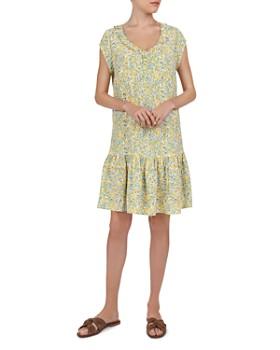 Gerard Darel - Gretel Ruffled Floral Dress
