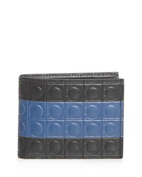 5d72b6facdd7 Salvatore Ferragamo - Firenze Gamma Stripe Leather Bi-Fold Wallet ...