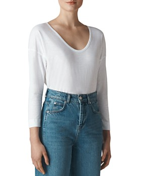 Whistles - Scoop Neck Top