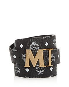 MCM - Claus M Reversible Leather Belt